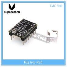 BIGTREETECH 1 ШТ. StepStick МКС TMC2100 драйвер шагового двигателя ультра-тихий отличная стабильность и превосходную производительность