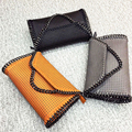 YESIKIMI Women Shoulder Bags Falabellas 3 Chains Bag Soft PU Leather Envelope Purse Rivet Handbags Famous Design