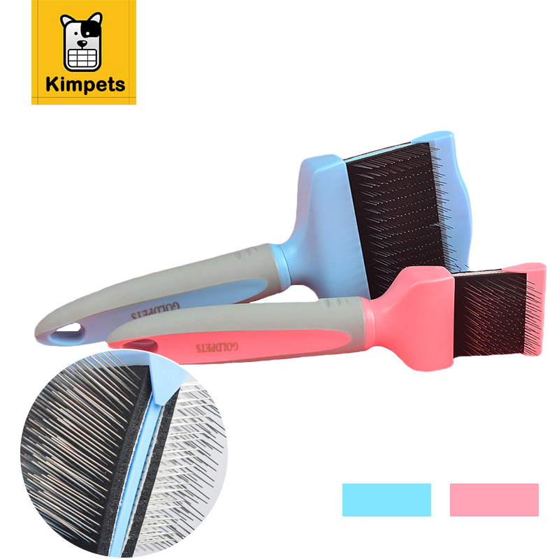 Puppy Cat <font><b>Hair</b></font> Grooming Slicker Comb <font><b>Brush</b></font> <font><b>Quick</b></font> <font><b>Clean</b></font> <font><b>Tool</b></font> <font><b>Pet</b></font> Brand New Gilling <font><b>Brush</b></font> <font><b>Pet</b></font> <font><b>Dog</b></font> Cat <font><b>Removal</b></font> Grooming Comb <font><b>Brush</b></font>
