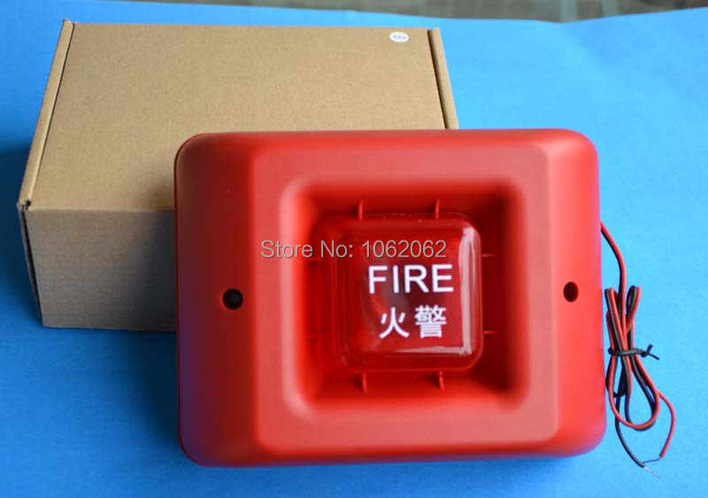 Brandalarm Strob Siren Voor Alarmsysteem