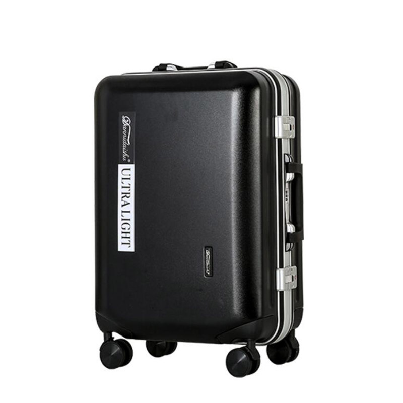 """TRAVEL TALE PC 20"""" 24"""" 26"""" inch abs traveling hard trolley suitcase matt rolling luggage on wheels-in Rolling Luggage from Luggage & Bags    1"""