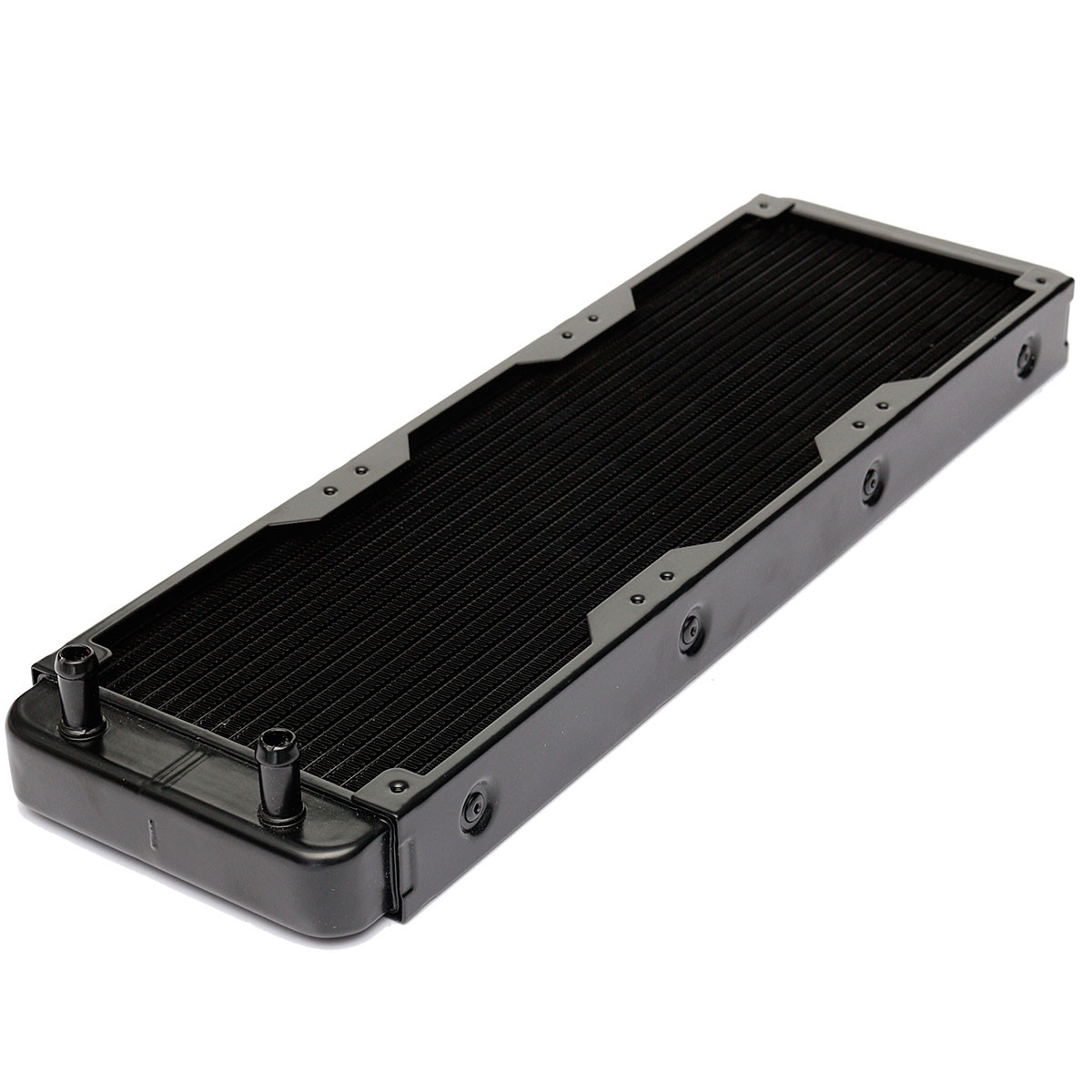360mm Aluminium Computer Water Cooling Discharge Liquid Heat Exchanger Threaded Thread Radiator for CPU LED Heatsink