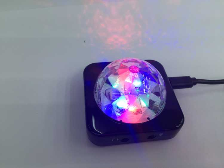 USB sound card with LED flash effect computer games dedicated