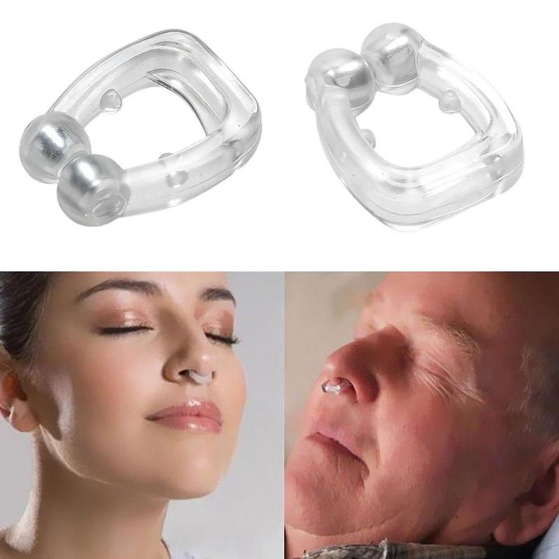 Anti Snoring Breathe Easy Sleep Nose Clip Snore Stopper Aid Nasal Dilators Device For Sleeping Apnea With Case Drop Shipping