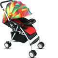 Hot sale portable folding baby stroller bidirectional wheel high landsacpe shockproof baby cart