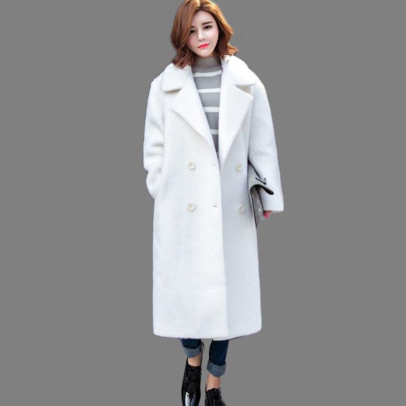 Popular Wool White Cheap Coat Lots