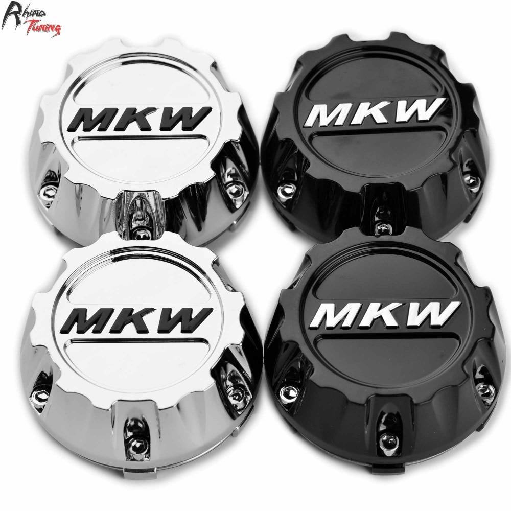 4pcs 96mm 91mm MKW Caps Emblem Off Road Car Wheel Center Cap Hub For MKW Off