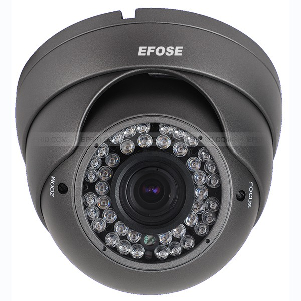 Security CCTV Dome Camera 2.8-12mm Lens CMOS 1000TVL With OSD Menu (Default black) cctv camera 2 8mm lens cmos 1000tvl security camera with osd menu