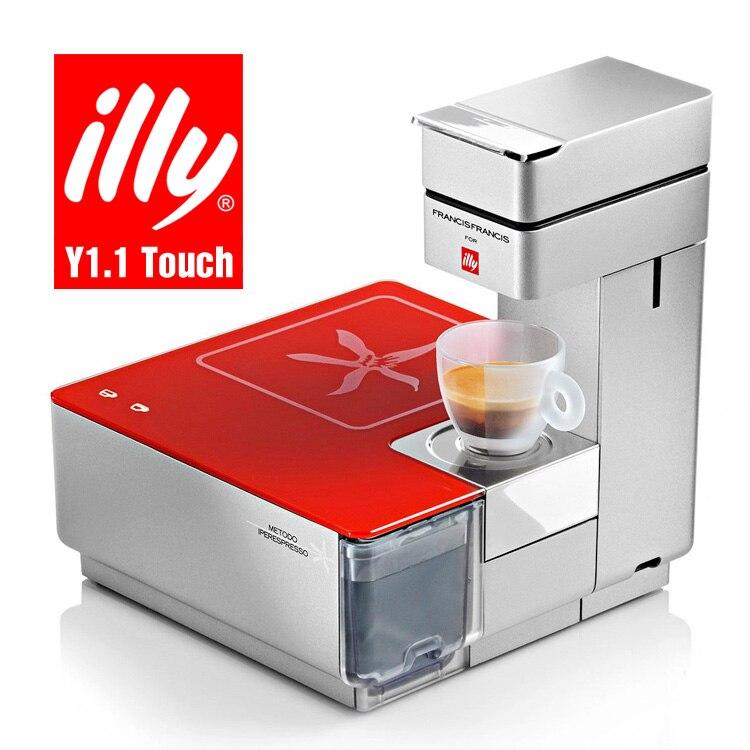 illy kaffeemaschine y1.1touch voll kaffeevollautomaten kapsel ...