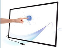 55 Real 2 Points usb multi touch screen overlay kit,55 Inch IR touch Frame with fast shipping