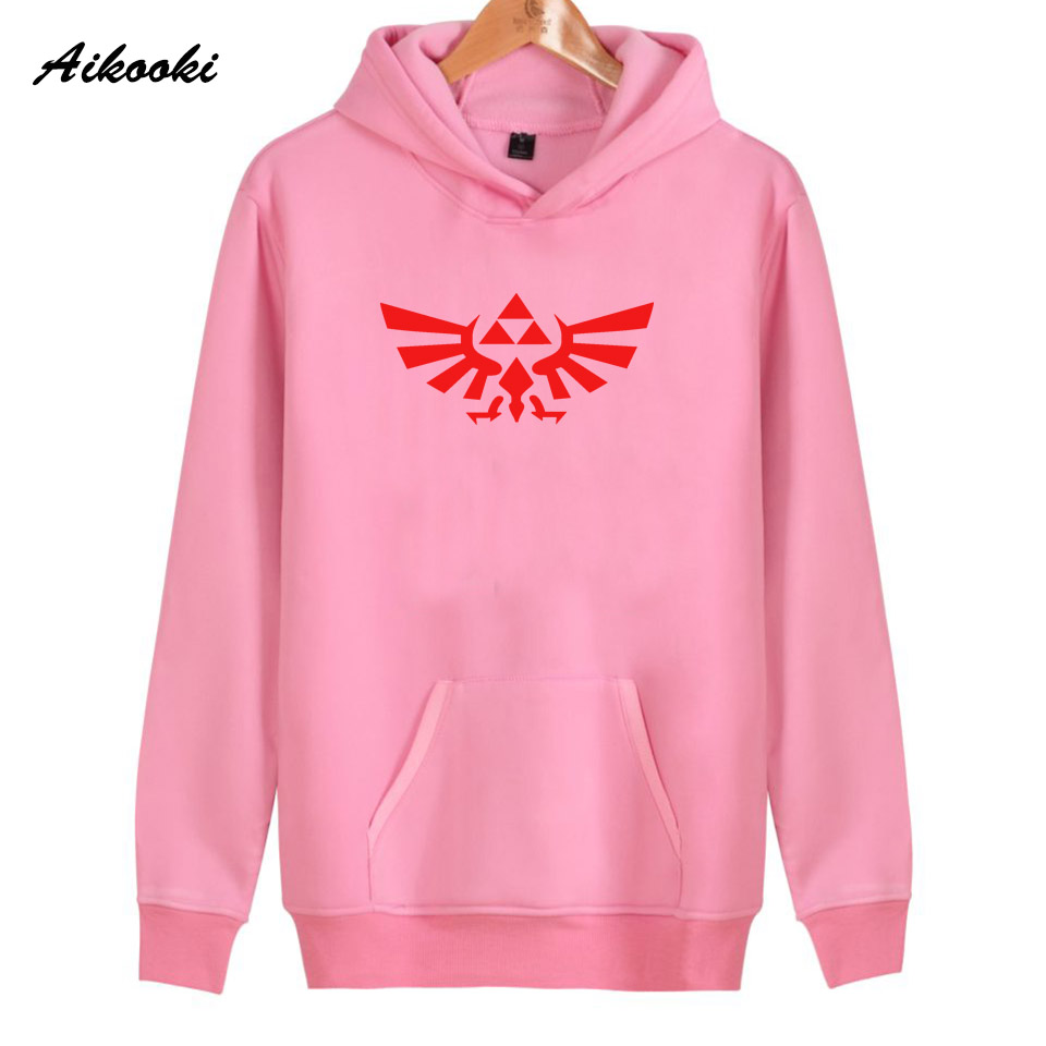 Aikooki legend of zelda Hoodies Women/Men High Quality Cotton Harajuku Womens Hoodies and Sweatshirt legend of zelda Clothes