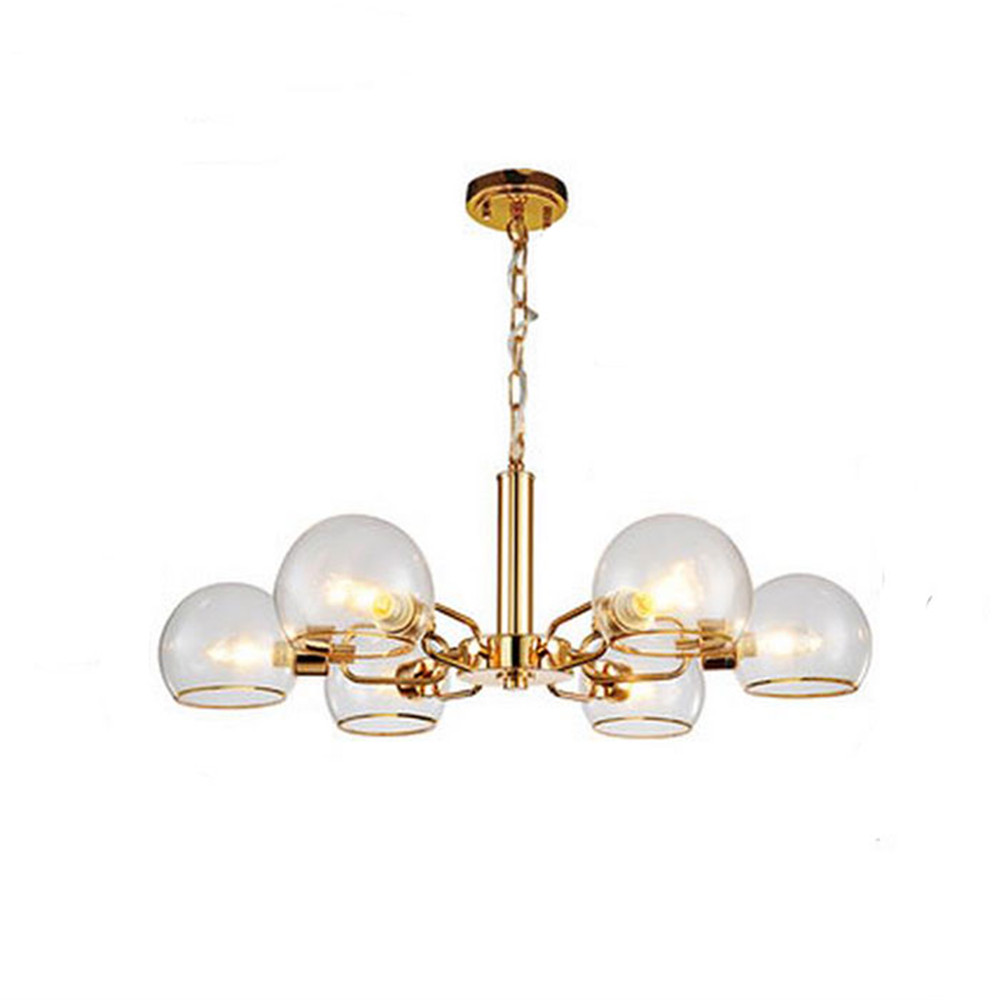 2017 new scandinavian glass living room chandelier modern black 2017 new scandinavian glass living room chandelier modern black white gold metal clear glass shades lustre chandeliers lighting in chandeliers from lights arubaitofo Image collections