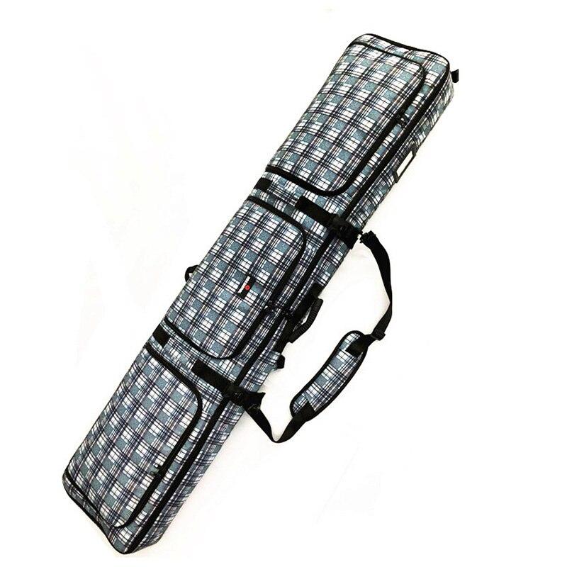 Pack Ski Neige Portable Carry Épaule Main Sac À Dos Sac Pour Double Snowboard Unique Bord Étanche Oxford Cas Couverture
