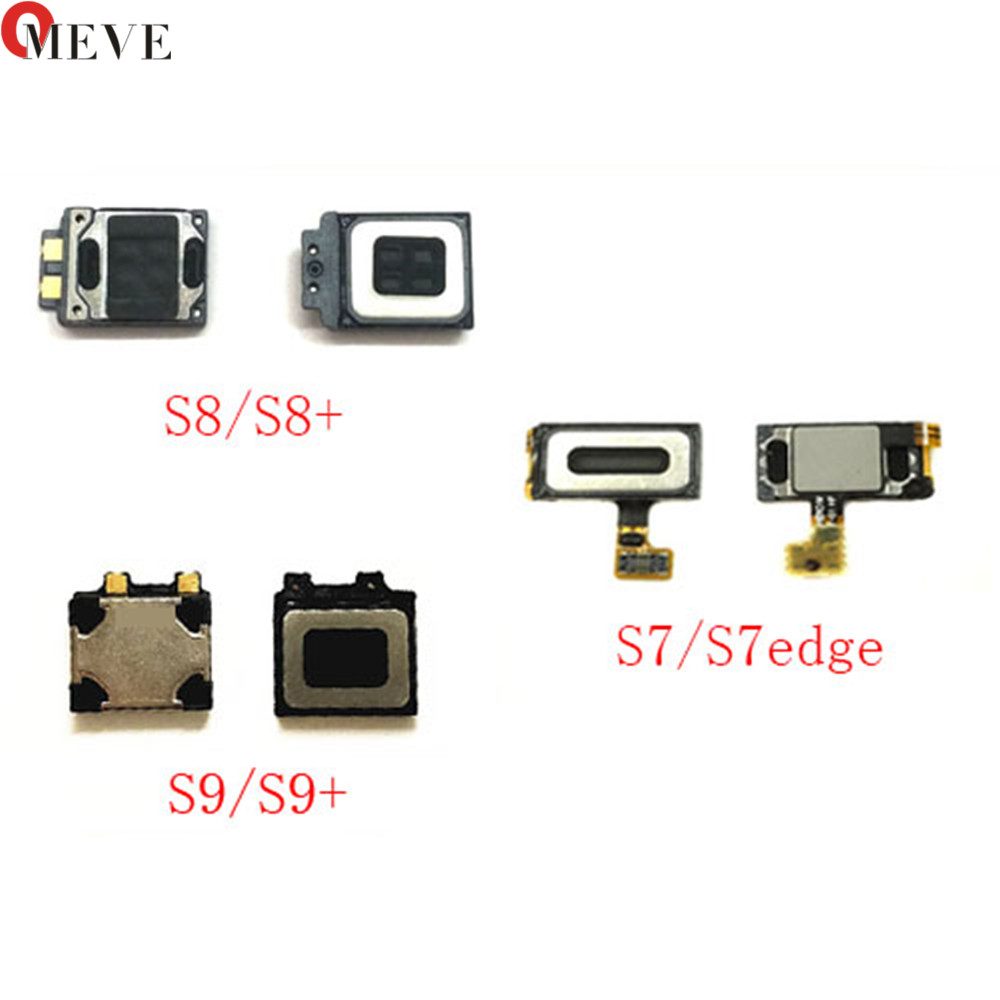 Original For Samsung Galaxy S6 S7 S7 Edge S8 S9 PLUS Ear Piece Earpiece Speaker Sound & Microphone Flex Cable Repair Parts
