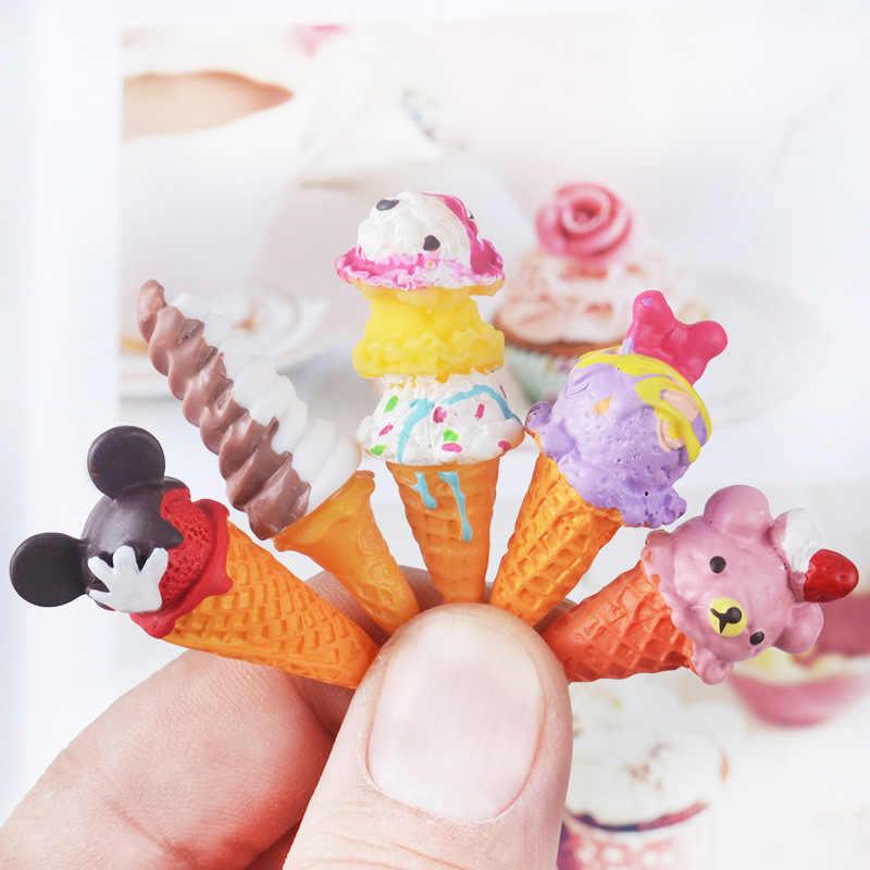 2/5 шт., канифольное мороженое для куклы BJD, игрушки для детей, подарок, игрушка для ролевых игр, кухонные игрушки, аксессуары для кукол