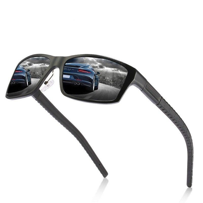 Ellen Buty Brand Designer Design New Sunglasses Men Polarized Square Aluminium Magnesium Male Sun Glasses Driver