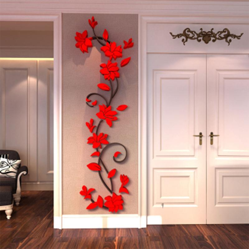 Buy new removable rose flower vinyl wall for How to buy art for your home