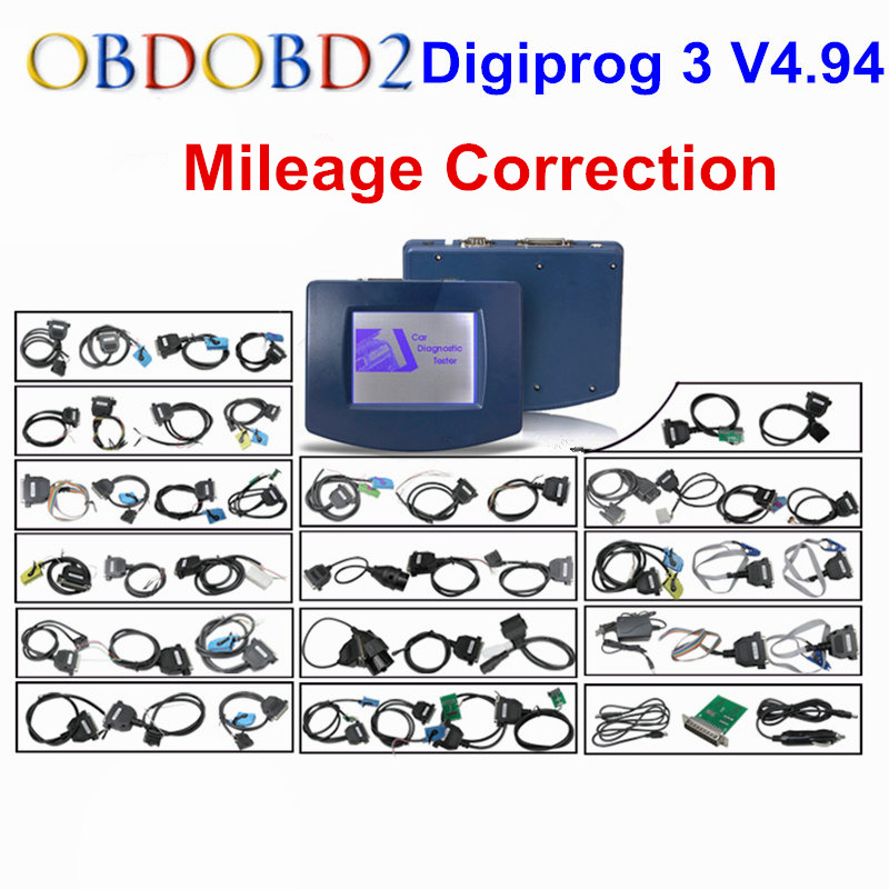 High Quality Digiprog3 Auto Mileage Adjust Programming Digiprog 3 V4.94 Odometer Correction With OBD ST01 ST04 Digiprog III new tops pants toddler girl clothing summer children clothes set baby boys girls tracksuit kids cloth kids hip hop clothing