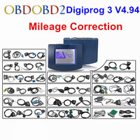 Yüksek Kaliteli Digiprog3 Oto Kilometre Ayarlamak Programlama Digiprog 3 OBD ST01 ST04 Ile V4.94 Sayacı Düzeltme Digiprog III
