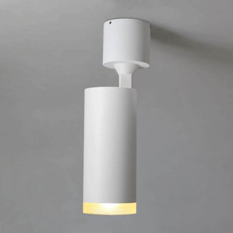 Surface Mounted LED Downlights Dimmable 12w 15w led down light cob AC85 265V LED Ceiling Lamp Spot Light in Downlights from Lights Lighting