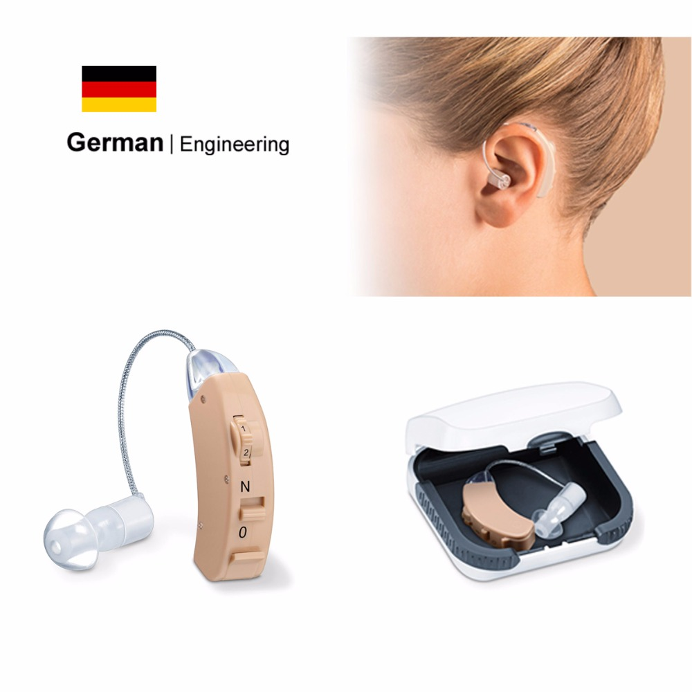 BTE Hearing Aid for The Elderly & Young Hearing Aids Sound Amplifier Better Than Resound Oticon Widex Phonak Siemens Hearing Aid