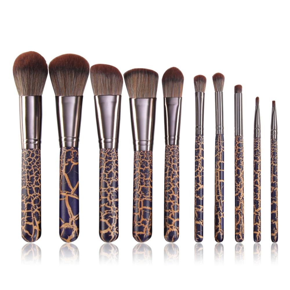 Professional Makeup Artist Make Up Қылқалам 10pcs Brush Set - Макияж - фото 1