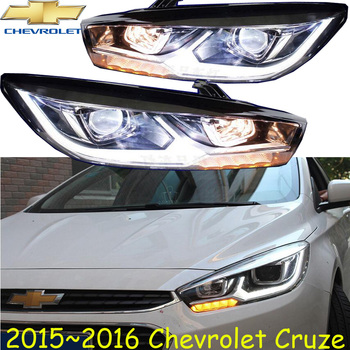2pcs Bumper lamp Cruze headlight,2009~2013/2015~2017 ,Free ship!cruz head light,malibu,Aveo,Epica,Lova image