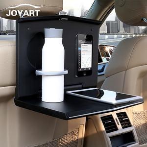 Универсальный многофункциональный портативный складной поднос для заднего сиденья автомобиля с подстаканником для ноутбука