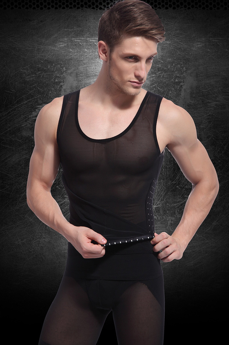Buy Slim N Lift Body Shaper Firm Shaping Fat For Man Burning Bodysuit Incredible Mens Vest Building Undershirt From Reliable