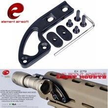 Элемент страйкбол SMC Скаут адаптивный свет крепление M300 M600 тактический фонарик Softair охотничье оружие фонарь для ружья Аксессуары EX279