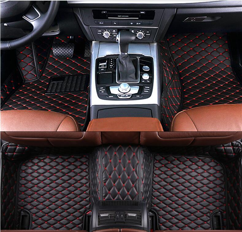 3D Luxury Slush <font><b>Floor</b></font> <font><b>Mats</b></font> Foot Pad <font><b>Mat</b></font> For <font><b>Lexus</b></font> RX270 <font><b>RX350</b></font> RX450h RX 2012 2013 2014 2015 (6colors)BY EMS image