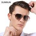 SUNRUN Brand Designer Cool Polarized Men Sunglasses Classic Fashion Polarized Eyewear Accessories  High Quality A1603