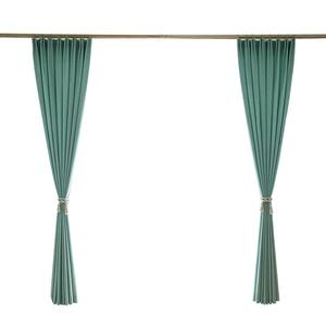 Image 5 - Turquoise ผ้าม่านสำหรับห้องนอนสีทึบสำนักงานตกแต่งม่านหน้าต่างห้องรับแขก