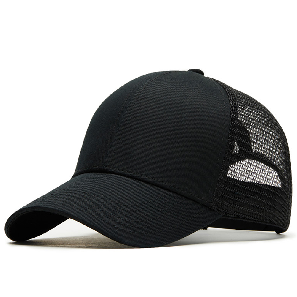 Bones Cotton Ventilate Sports Male Female Baseball Cap Dad Hat Baseball Hat Black Solid Outdoor Snapback Caps for Men Women