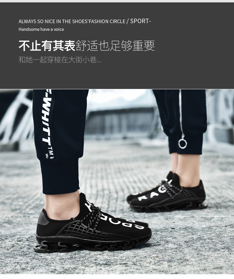 18 New Breathable QIYHONG Men Sneakers Unisex Couple Shoes Basket Femme Hard-Wearing Tenis Feminino Male Footwear Plus Size 9