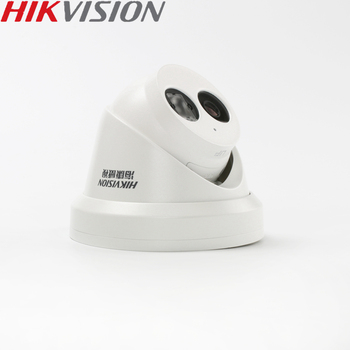 HIKVISION DS-2CD3345-I Chinese Version 4MP H.265  IP Dome Camera IR 30M Support ONVIF PoE  P2P Hik-connect Waterproof Mobile APP
