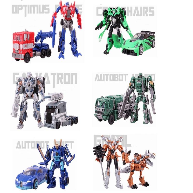 Anime transformation 4 Toys Robot Car Action Figure Optimus Pe Galvatron Hound Drift Crosshairs Brin