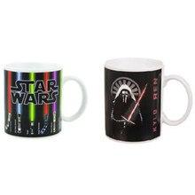 Star Wars Lichtschwert Kylo Ren Kaffee Mug Wärme Offenbaren Farbwechsel Tee Milch Tasse Sensitive Keramik Drink