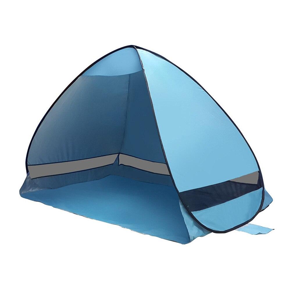 Automatique de Camping tente de plage Pop Up Instant Ouvert Anti UV Auvent Tentes En Plein Air Sunshelter EDF88