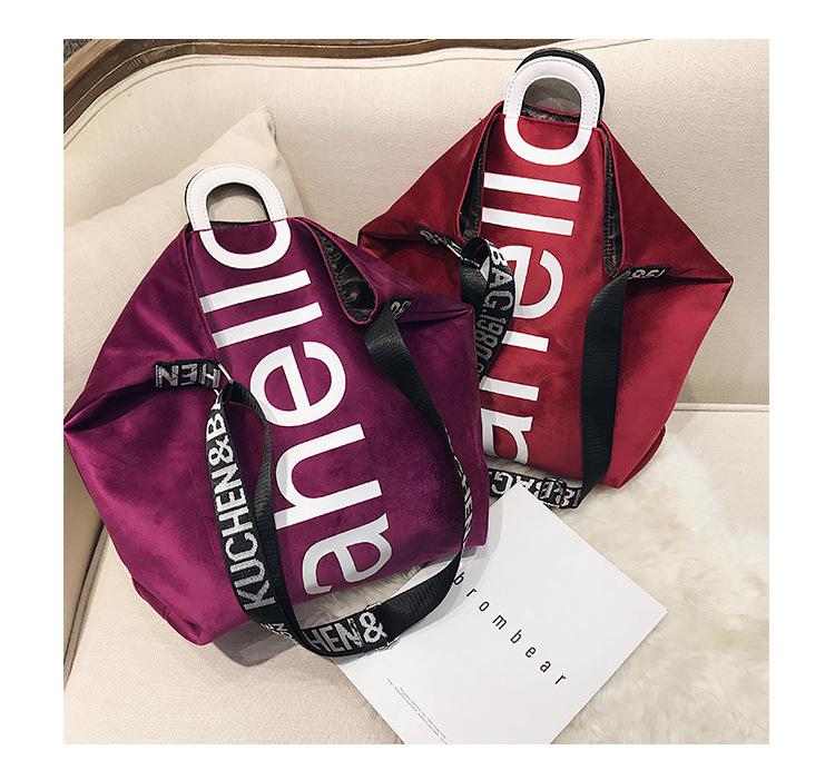 HTB1mjXQXvvsK1Rjy0Fiq6zwtXXaQ - New Large-capacity Velvet Handbag Fashion Lady Letter Shoulder Crossbody Bag High Quality Women's Shopping Bag Tote