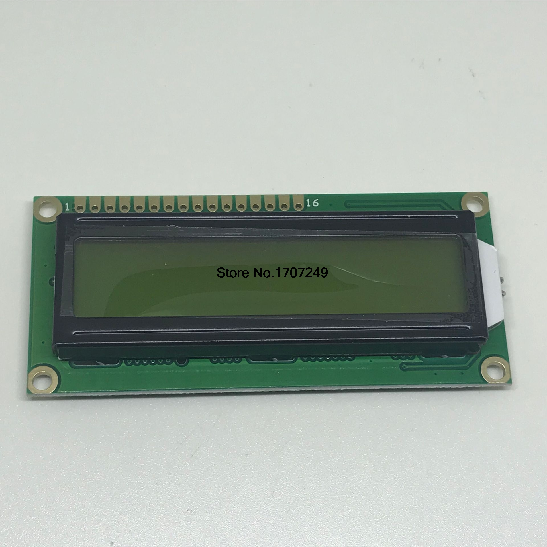 LCD module Yellow Green Screen 16x2 Character LCD Display Module 1602 LCD 5V Yellow Green backlight Black characters for arduino