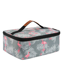 lunch box for men women lunch container bag cooler tote bag reusable box insulated lunch bag pearland oilers p lunch tote personalized