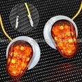 Пользовательские Дым LED Заподлицо Поворотник Мигалки Маркер Для Yamaha YZF R1 R6 R6S FZ1 FZ6R