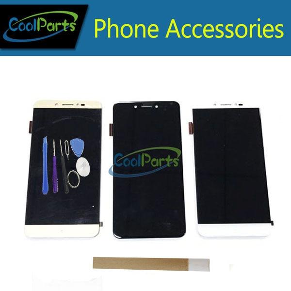 1 pc/lot 5,3 ''para Prestigio gracia Z5 PSP5530 DUO PSP5530 pantalla LCD + pantalla táctil digitalizador negro blanco oro color + cinta y herramienta