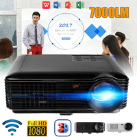 SV 228 WiFi Version Projector 7000 LM 1080P Portable Led Projector