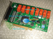 PCI-1761 REV.A1 Relay 8 Output Isolation Digital Input Data Acquisition Board