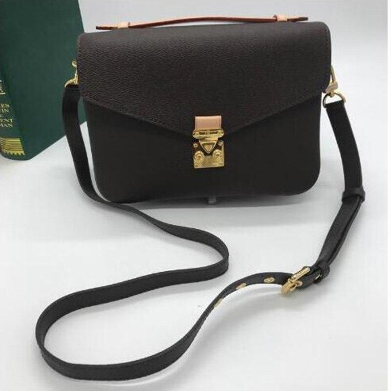 Nuove donne di lusso sacchetto del messager di alta qualità della tela di canapa monogram pochette metis veloce SOHO borsa può aggiungere timbro caldo
