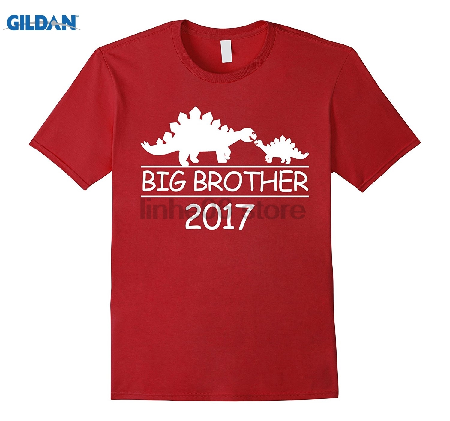 GILDAN Dinosaur Stegosaurus Big Brother 2017 T-Shirt sunglasses women T-shirt