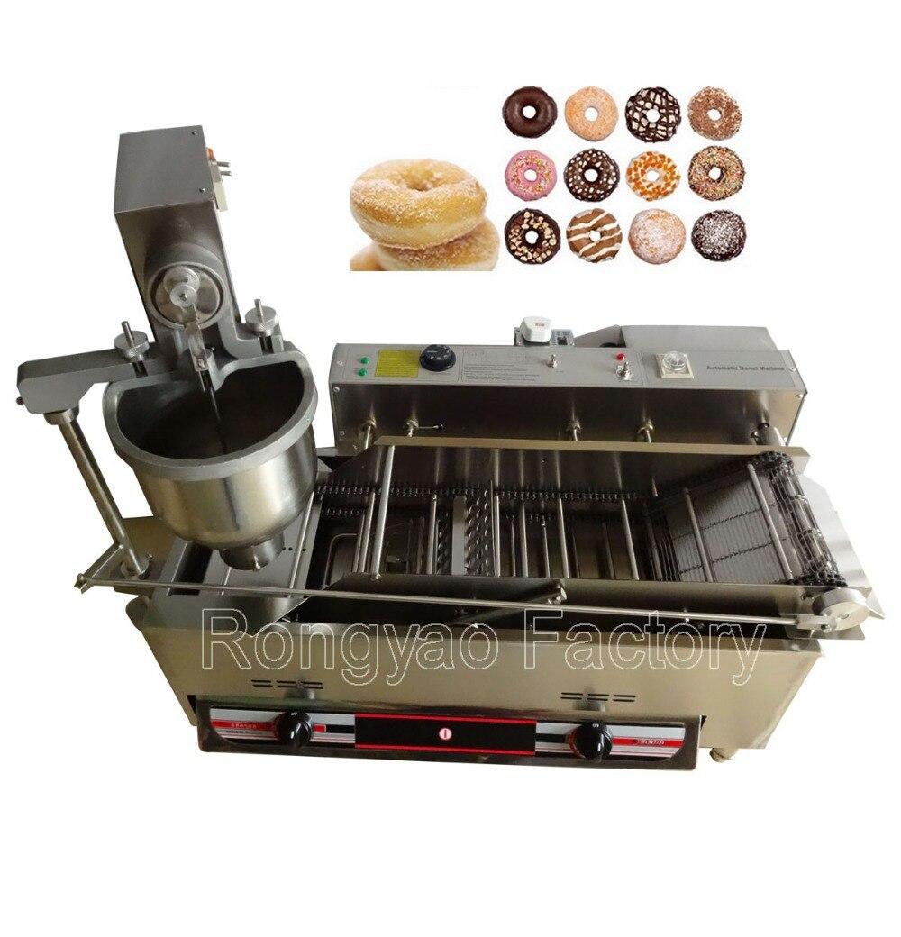 RY T 100B газа пончик машина постоянного или переменного тока пончик maker machine нержавеющей стали пончик машина газа пончик машина