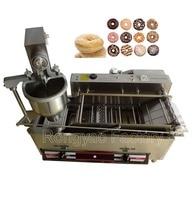 RY T 100B Gas donut machine DC or AC power Donut maker machine Stainless steel donut machine gas donut machine